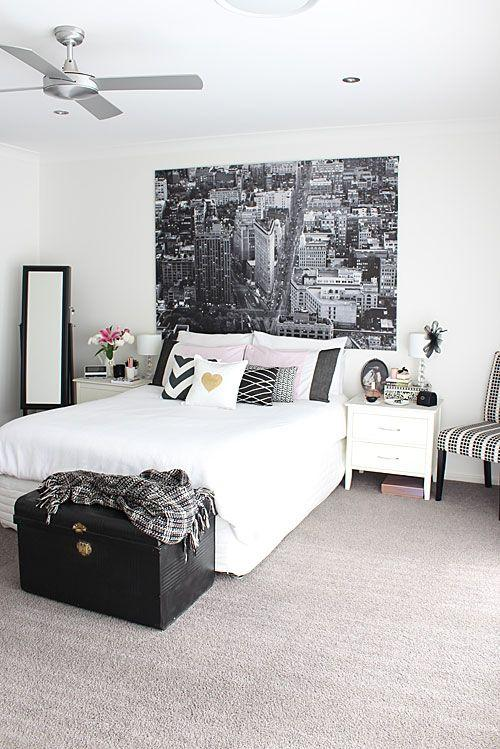 black and white small bedroom ideas 50 fotos de quartos decorados ba 250 s 20368