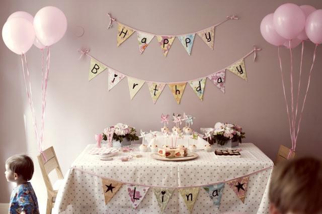 Aniversário decoração criança