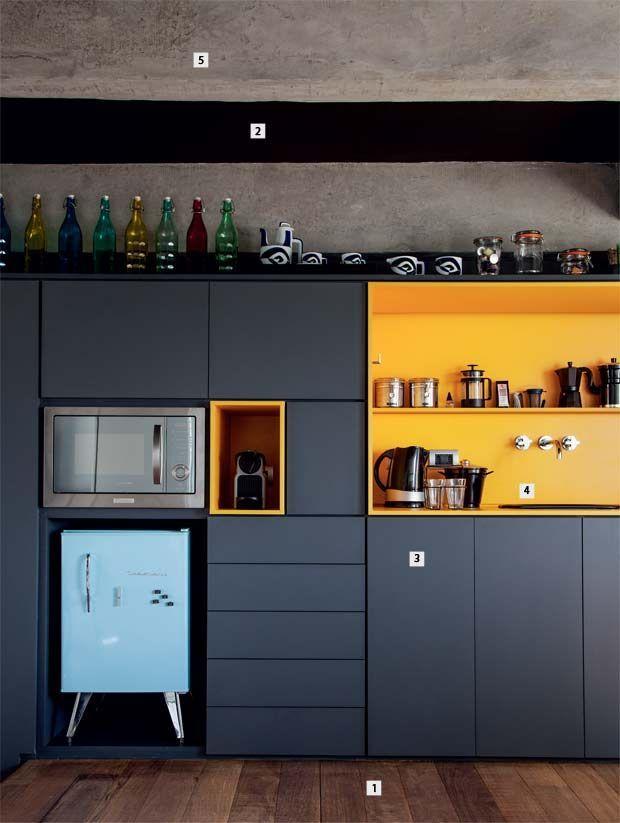 60 cozinhas amarelas decoradas lindas e inspiradoras : 60 Cozinhas Amarelas Decoradas Lindas e Inspiradoras
