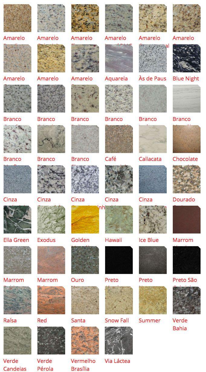 tipos de granitos 50 fotos cores e exemplos On tipos de granitos