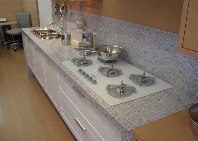 TIPOS DE GRANITOS  50 Fotos, Cores e Exemplos # Bancada De Cozinha Granito Branco