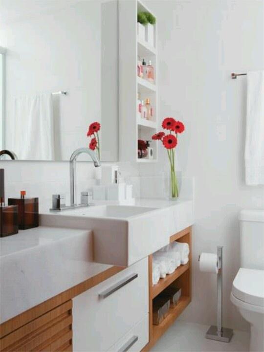 60 Nichos para Banheiros  Ideias e Fotos Lindas -> Nicho De Banheiro Medidas
