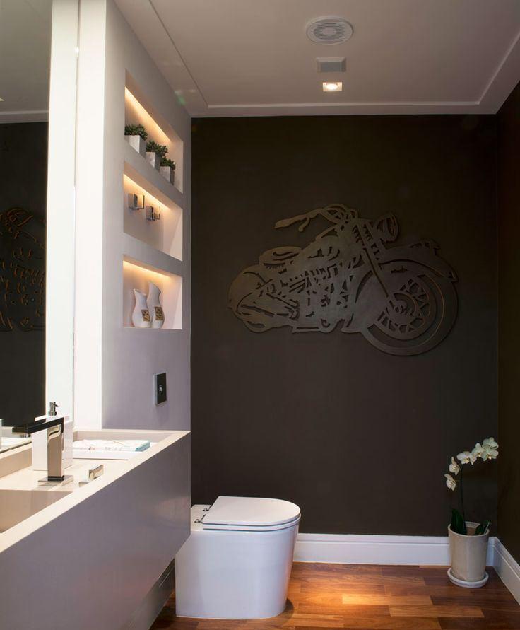 60 Nichos para Banheiros  Ideias e Fotos Lindas -> Nichos Em Banheiros Pequenos