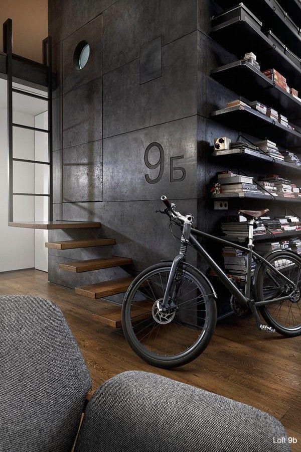 Um loft com muito estilo!