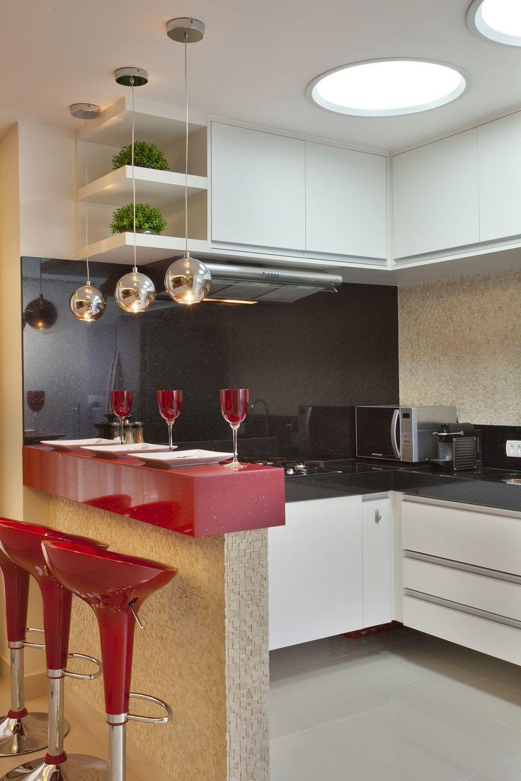 55 Cozinhas em L  Fotos e Ideias Lindas # Cozinha Pequena Em L