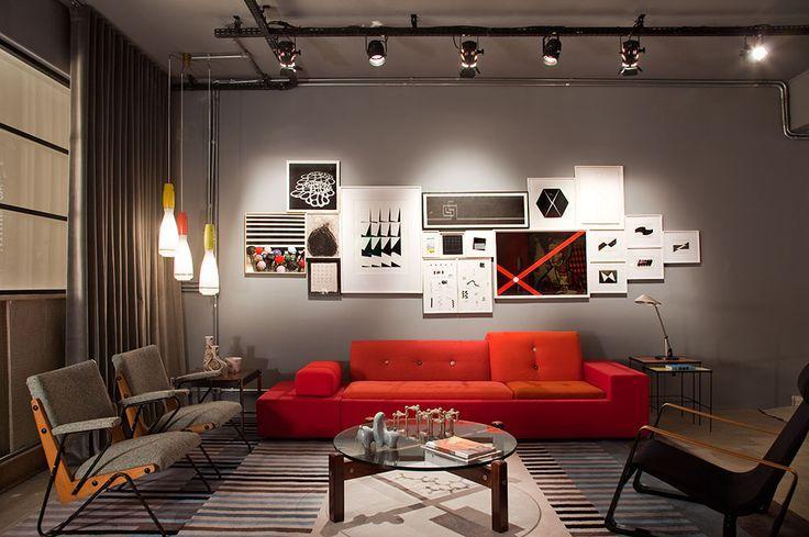 Decora o industrial 60 inspira es fotos e ideias for Pintura estilo industrial