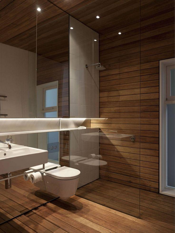 60 Nichos para Banheiros  Ideias e Fotos Lindas -> Nicho Vermelho Banheiro