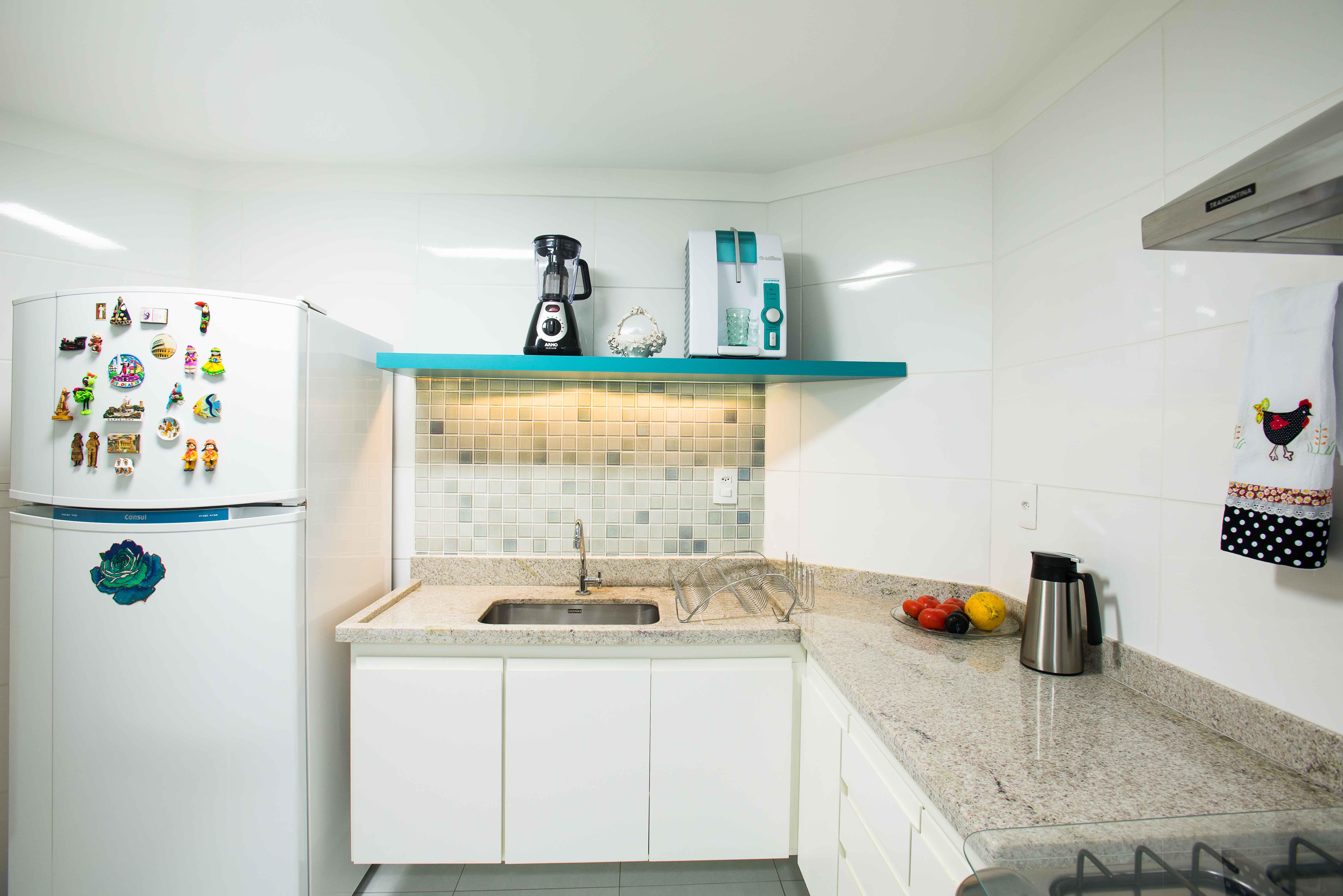 55 Cozinhas Em L Fotos E Ideias Lindas -> Acabamento De Sala E Cozinha