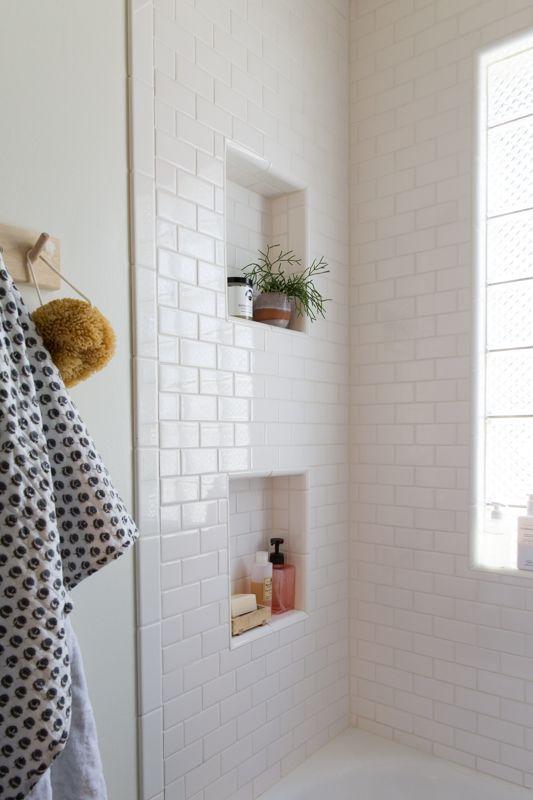 60 Nichos para Banheiros  Ideias e Fotos Lindas -> Nicho Para Banheiro Pronto
