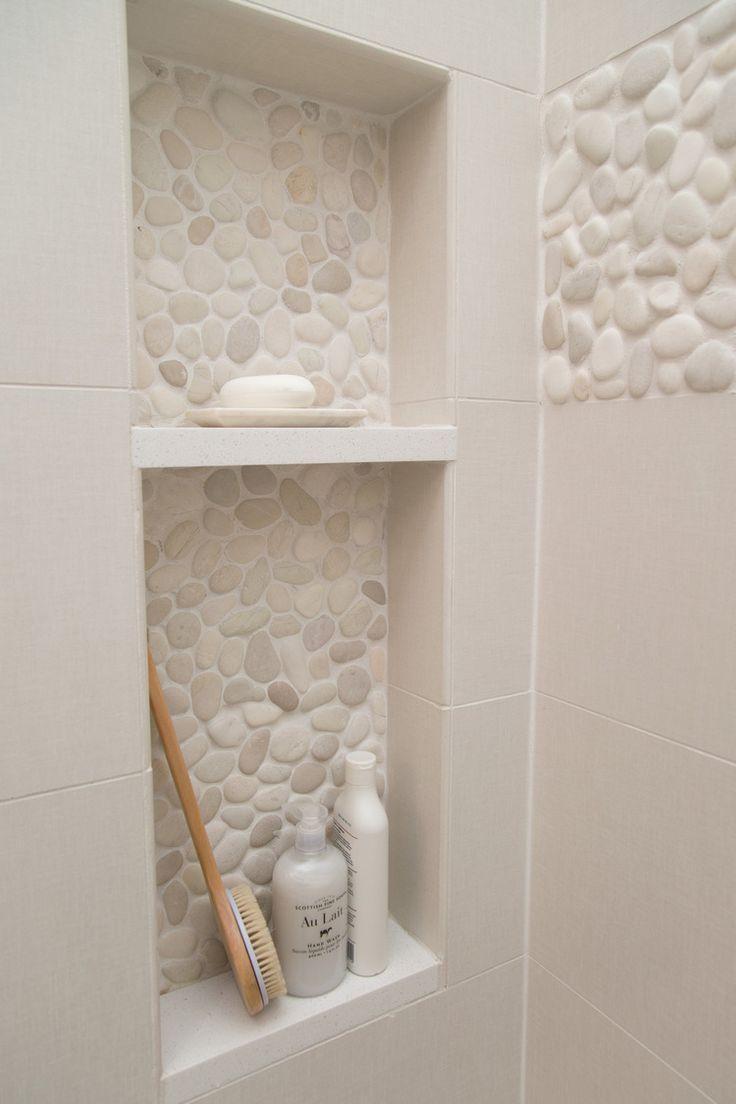 60 nichos para banheiros ideias e fotos lindas for Salle de bain carrelage vertical