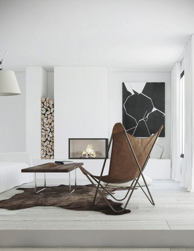 60 fotos de decora o minimalista ambientes lindos for Ambientes minimalistas interiores