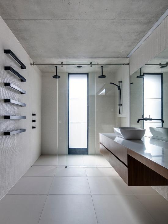 60 Banheiros Modernos Lindos e Elegantes  Fotos -> Banheiros Simples E Elegantes