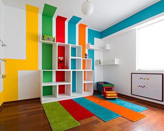 60 paredes listradas lindas e inspiradoras