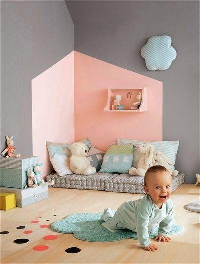 Camuflada com a cor da parede