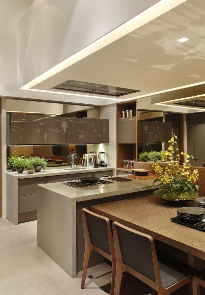 Cor fendi na decora o 60 fotos incr veis Interiores de casas modernas 2016