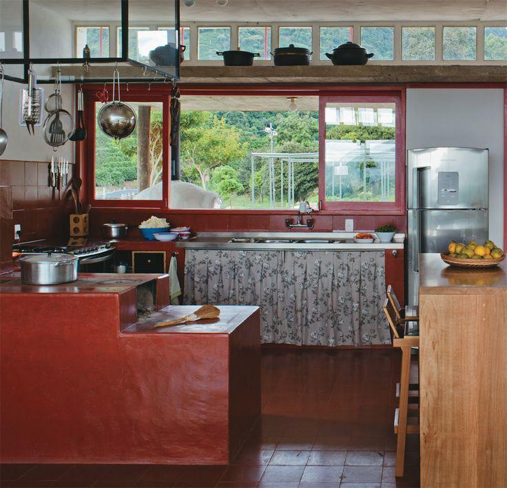 60 Fotos de Decoração com Estilo Colonial # Armario De Cozinha Estilo Fazenda