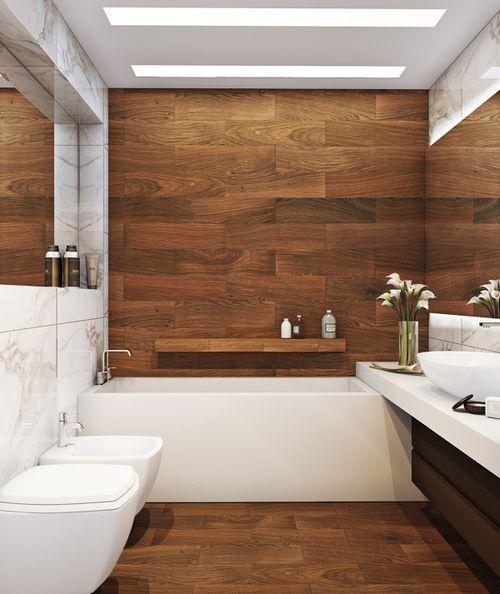 60 Banheiros Modernos Lindos e Elegantes  Fotos -> Banheiro Mais Modernos Do Mundo