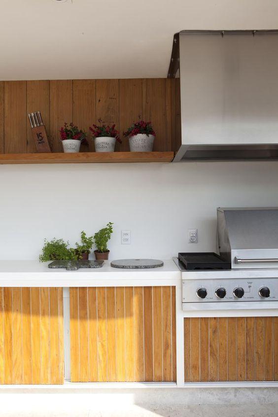 Ideal para uma varanda gourmet