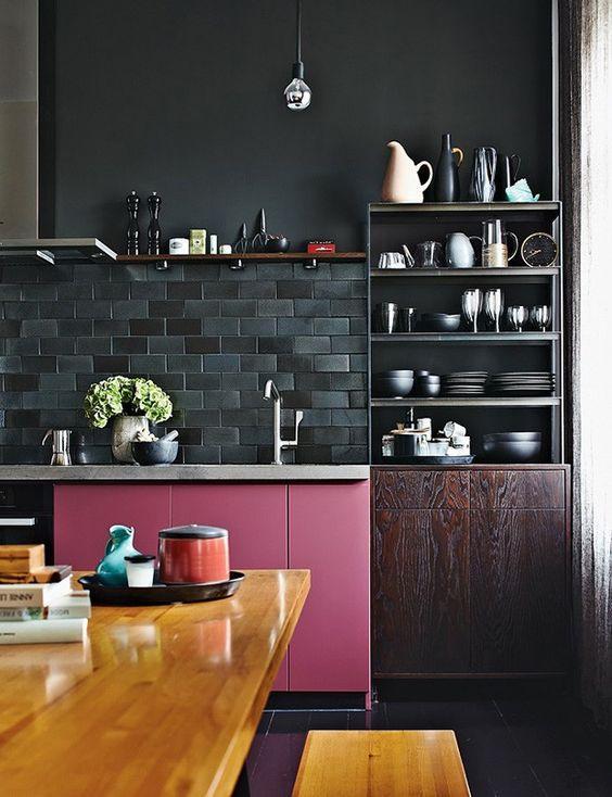 Cozinha com um ar sofisticado