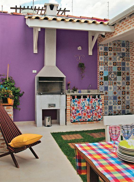 Ambiente alegre, divertido e colorido!