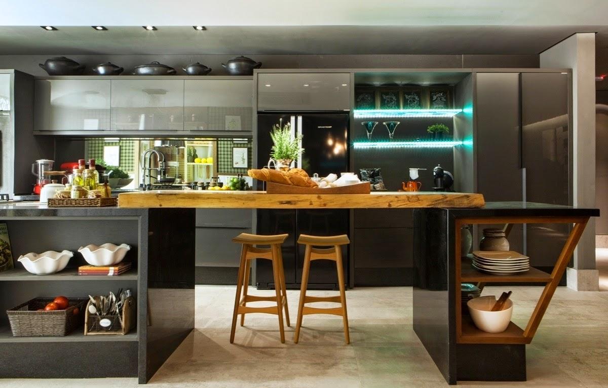 60 cozinhas com espelhos decoradas fotos lindas for Casa moderna wallpaper