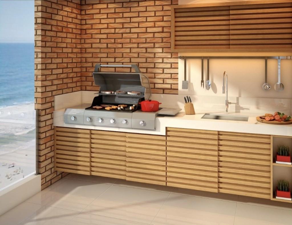 Churrasqueira e grill para ter uma segunda cozinha instalada em casa