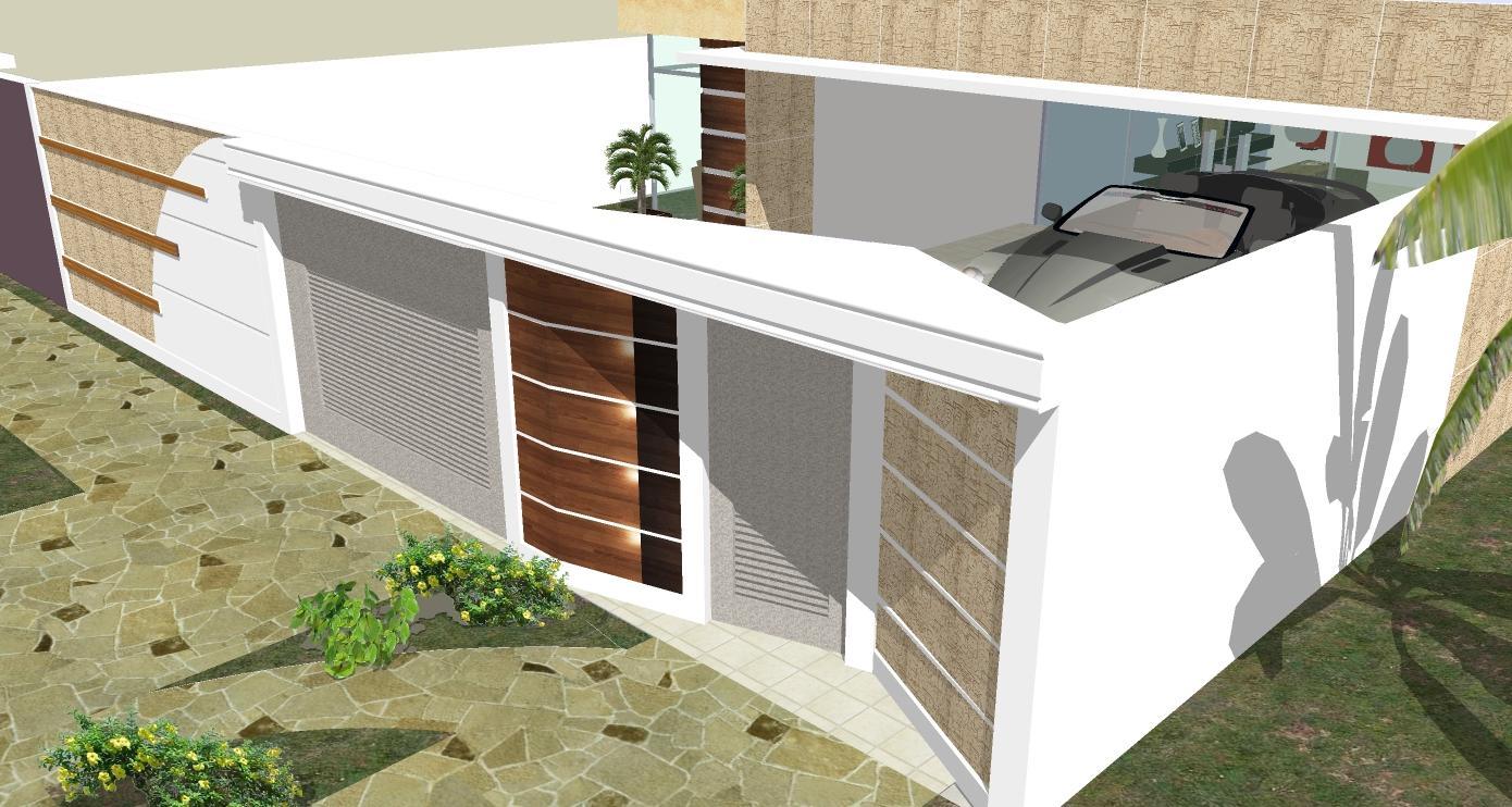 Muro de casas com pedras decorativas paredes e muros em for Mamparas decorativas para casa