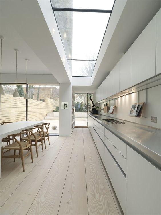 Para uma cozinha ampla e iluminada!