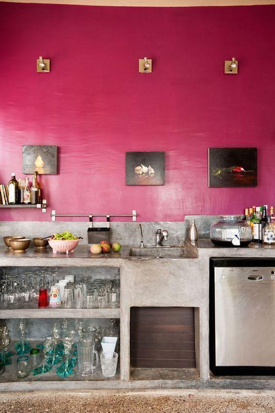 Para uma cozinha com estilo industrial