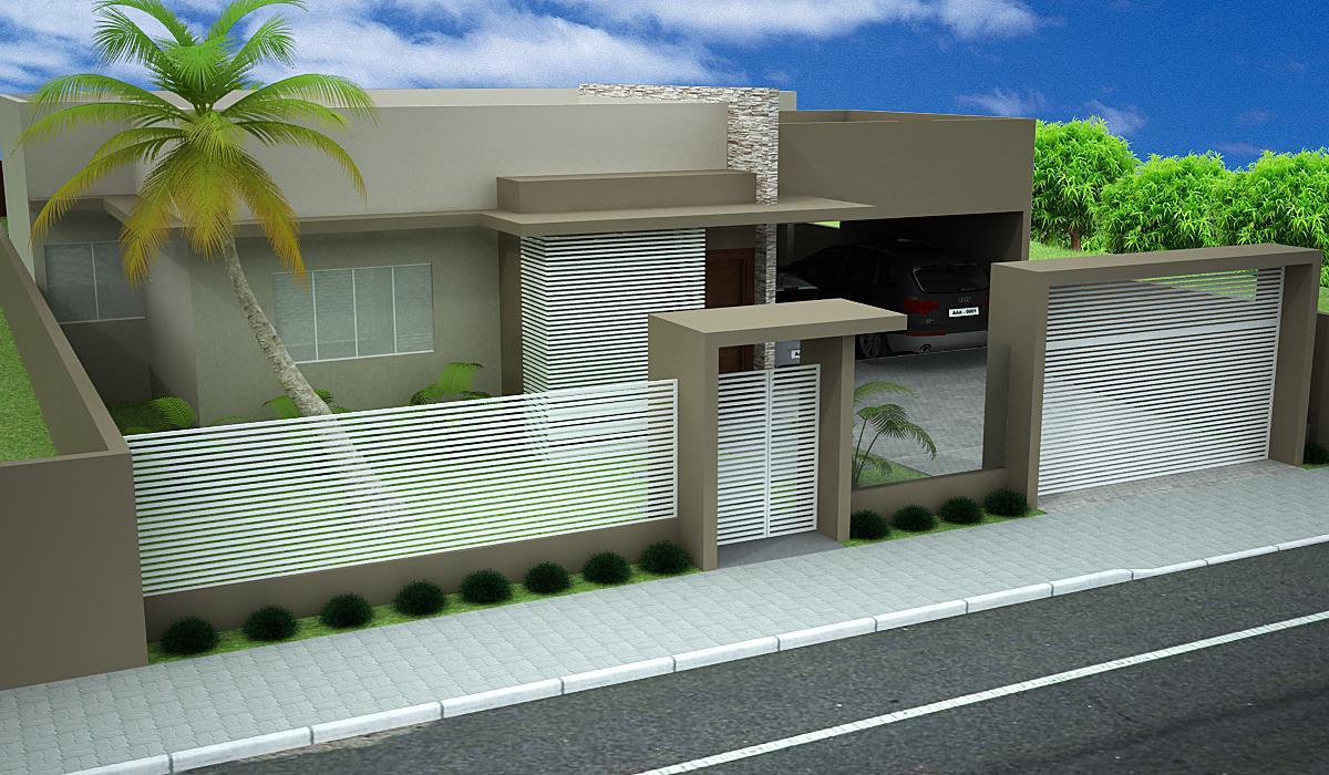 Imagem 8 ? Muro interno com plantas e revestimento de madeira