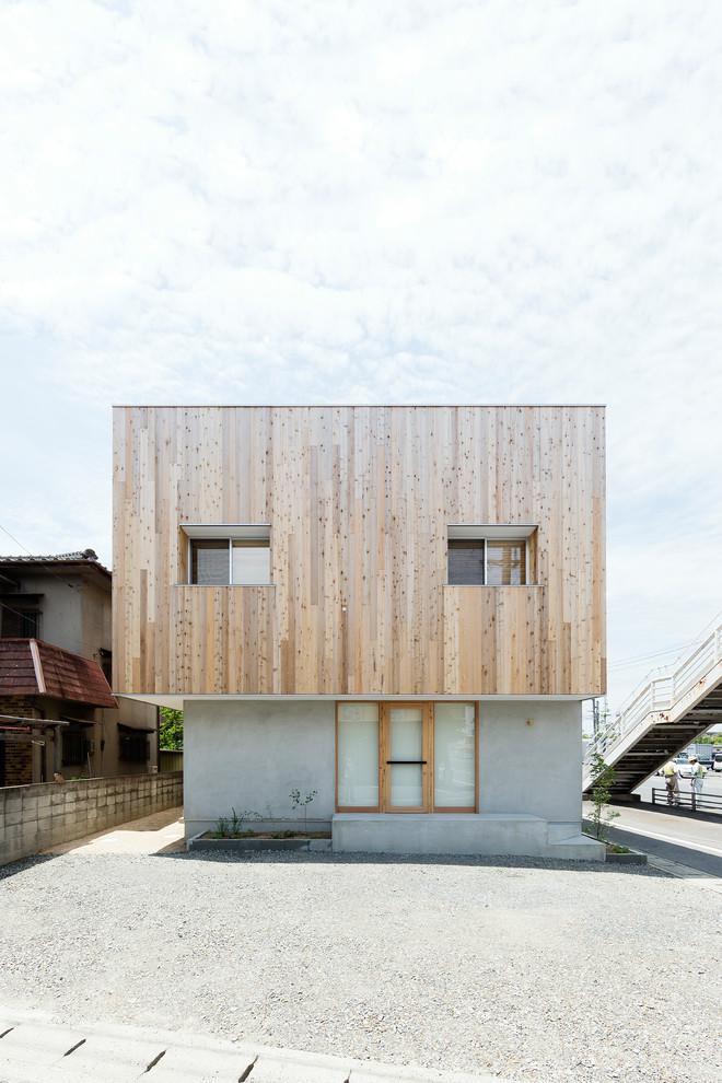 Modelo de casa no estilo escandinavo de arquitetura