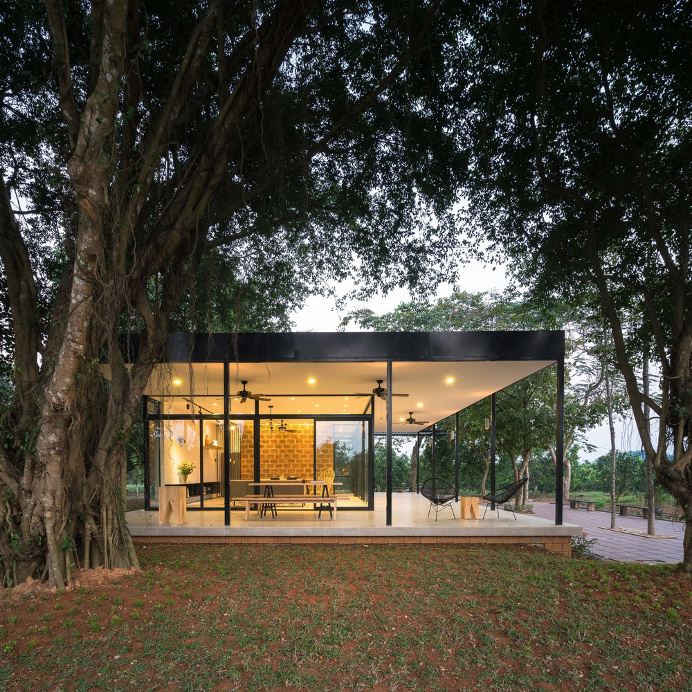 Casa bonita com arquitetura moderna