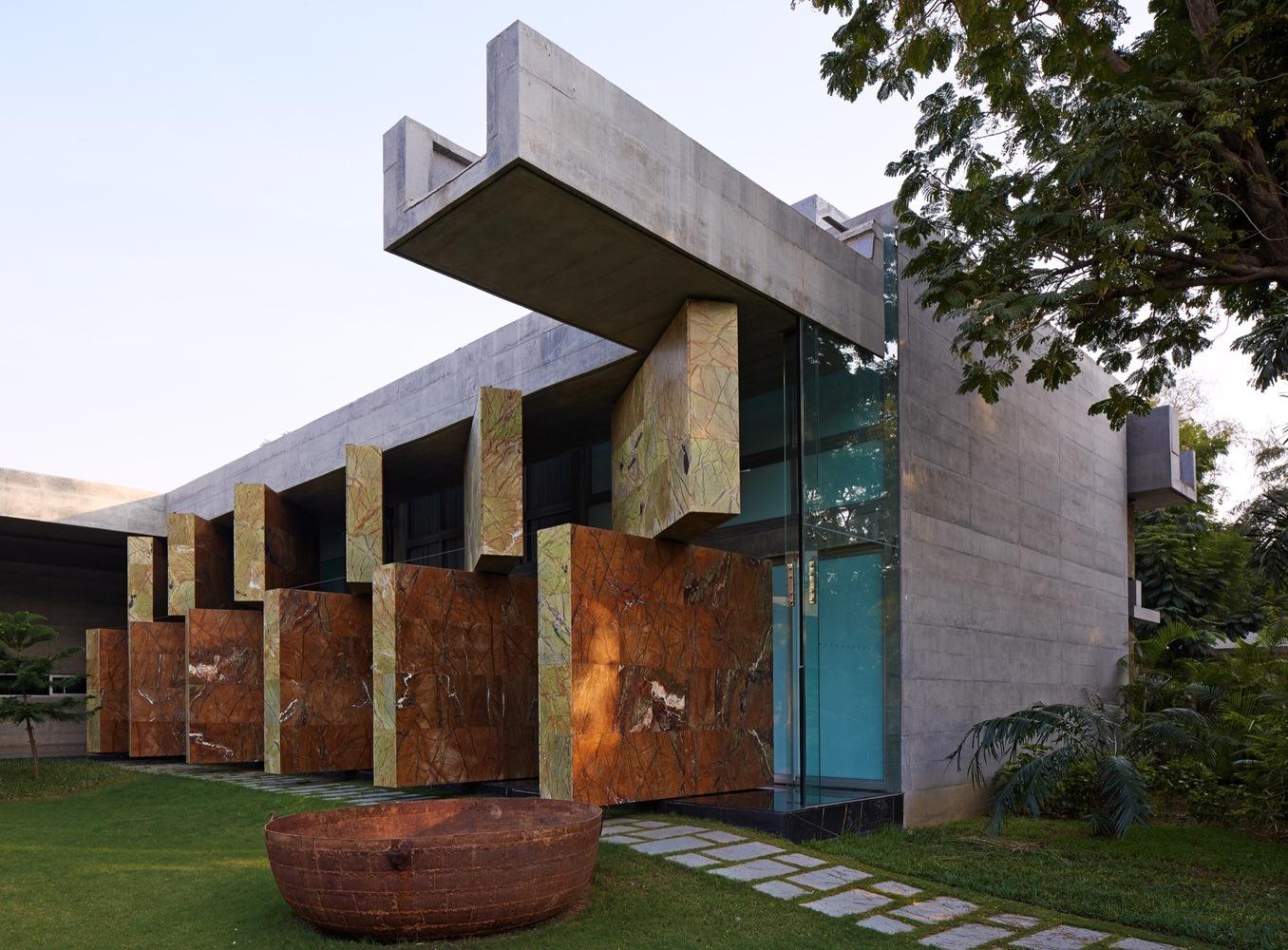 Projeto moderno de casa bonita