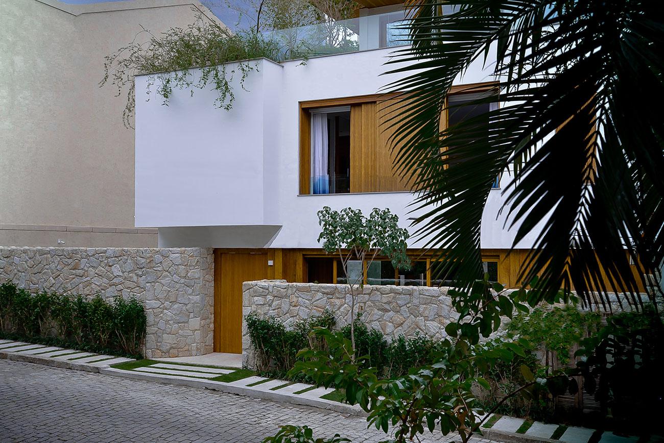 Casa bonita no estilo mediterrâneo