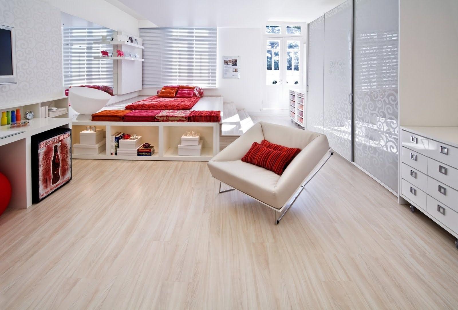 Pisos que imitam madeira 60 fotos e ideias for Pisos para apartamentos pequenos
