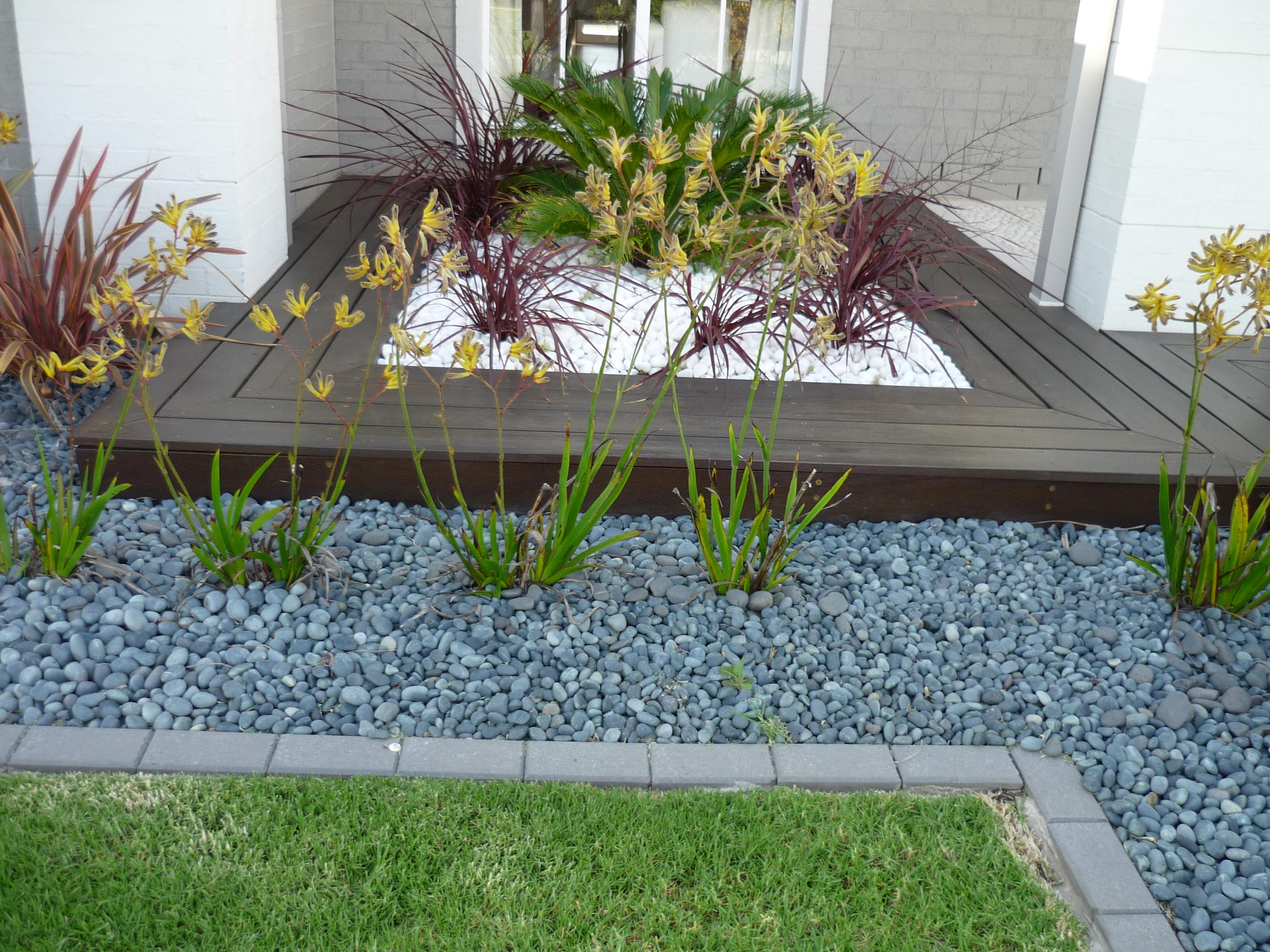 Populares 60+ Jardins com Pedras Decorativas: Fotos Lindas SP89