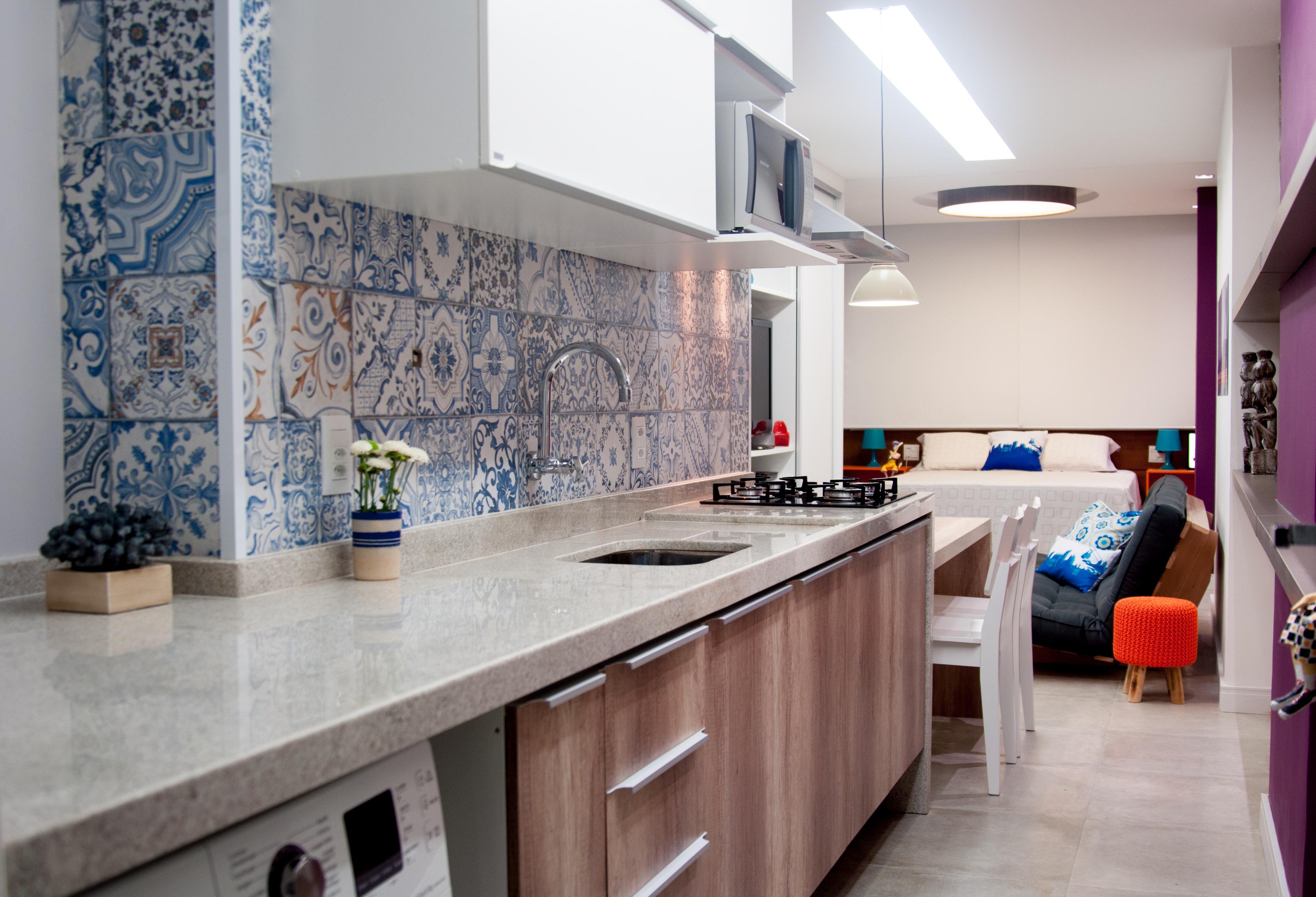 Azulejo portugu s na decora o 60 fotos inspiradoras for Casa del azulejo