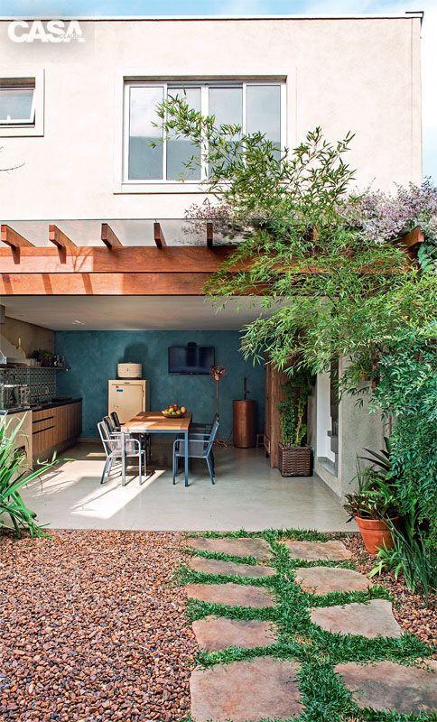 seixo para jardim em belem:60+ Jardins com Pedras Decorativas: Fotos Lindas