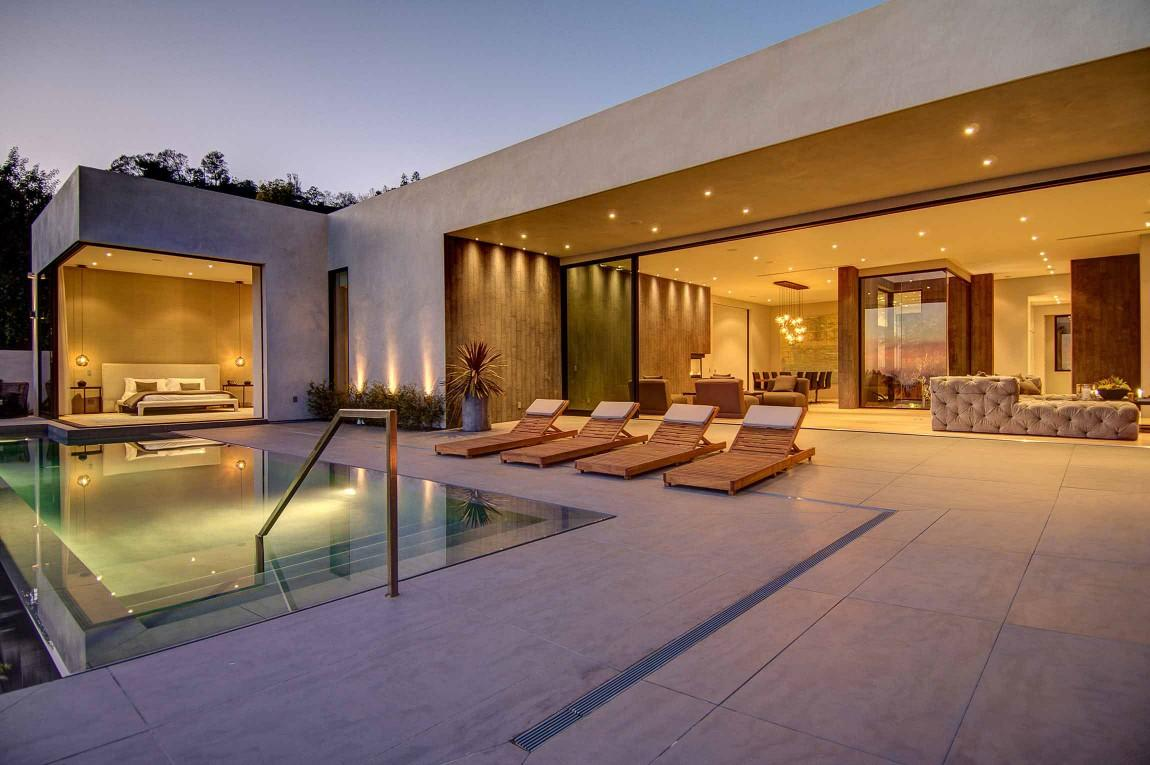 132 casas bonitas modernas fotos lindas for Casas con piscina interior fotos