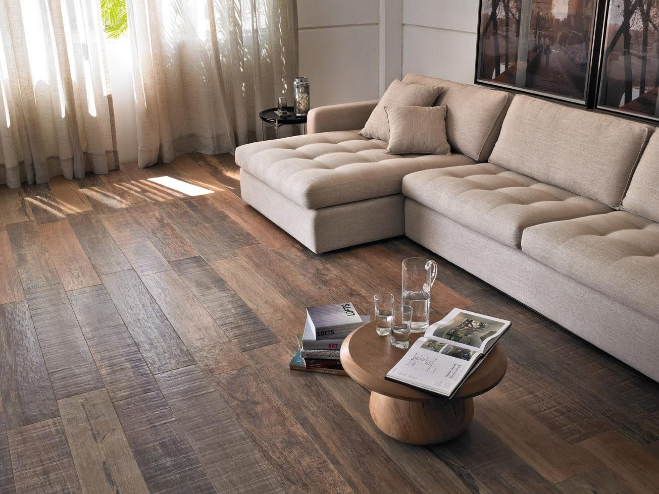 Pisos que imitam madeira 60 fotos e ideias for Modelos de pisos exteriores