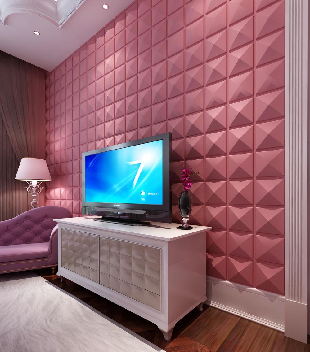 60 pain is de gesso 3d placas e fotos - Placas decorativas para pared interior ...