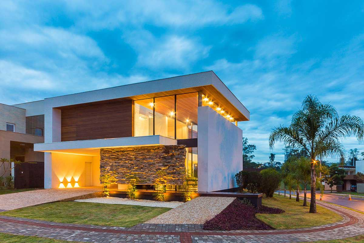 132 casas bonitas modernas fotos lindas for Casa moderna 44 belvedere