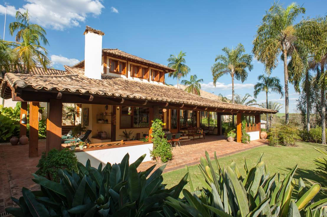 60 casas r sticas fachadas inspira es e fotos lindas for Jardines de casas rusticas