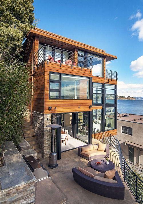 Uma varanda sempre é bem-vinda na casa