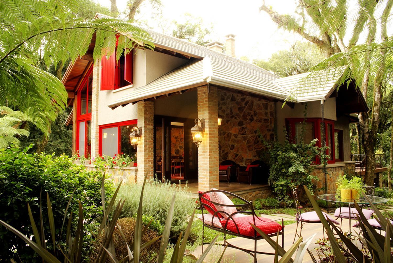 60 casas r sticas fachadas inspira es e fotos lindas for Modelos de casas rusticas