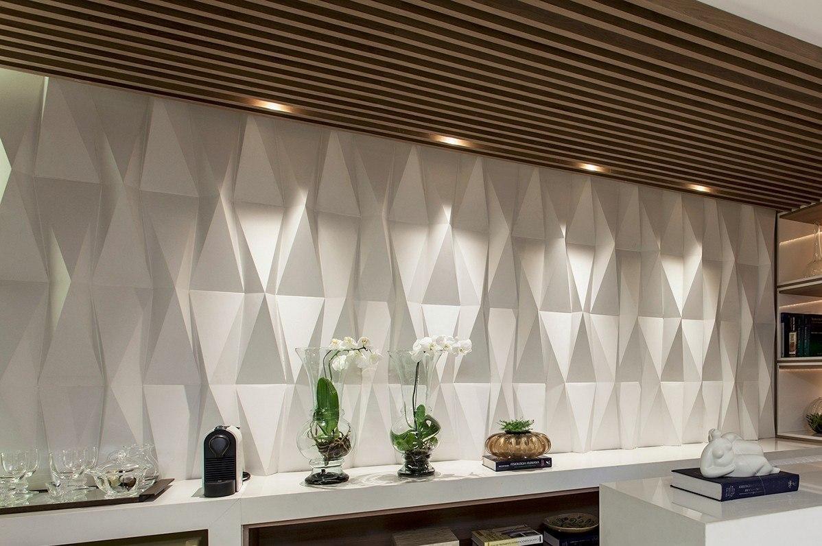 ... para complementar esse projeto incr?vel a parede ganhou um efeito 3D