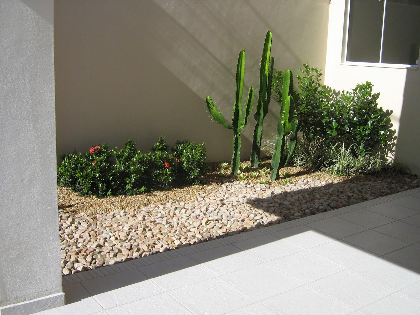 Criar Plantas De Casas 60 Jardins Com Pedras Decorativas Fotos Lindas
