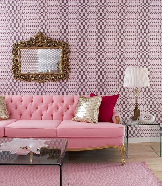 Para as apaixonadas por rosa!