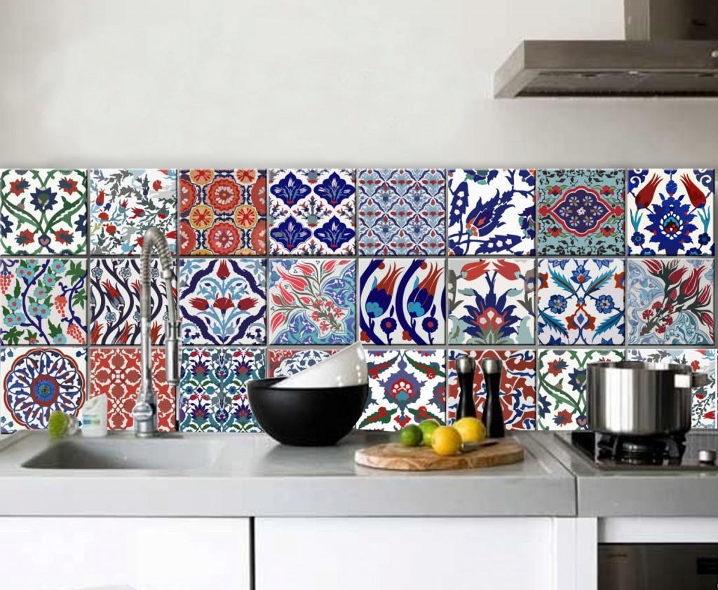 Imagem 54 – Piso com azulejo português #2B326B 1024x842 Banheiro Com Azulejo Portugues