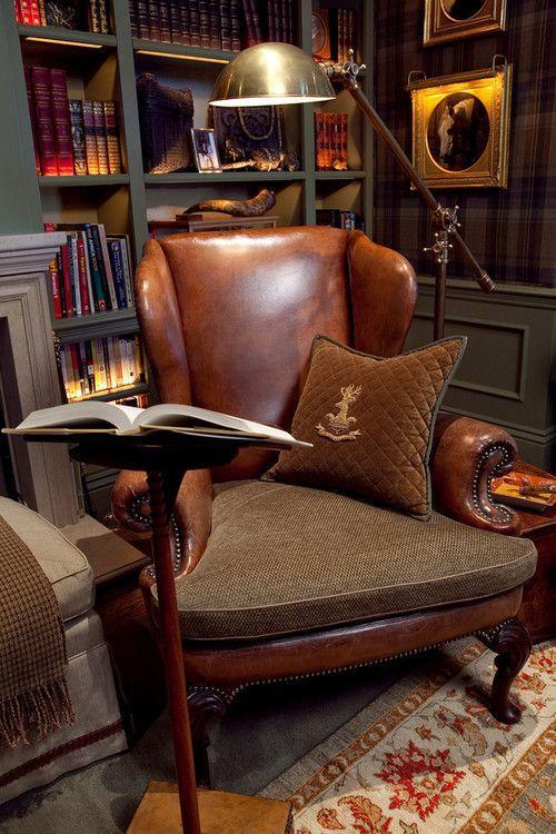 A poltrona clássica nunca sai de moda e é uma peça chave na decoração